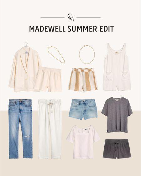 Madewell summer favorites. http://liketk.it/3hOPG @liketoknow.it #liketkit