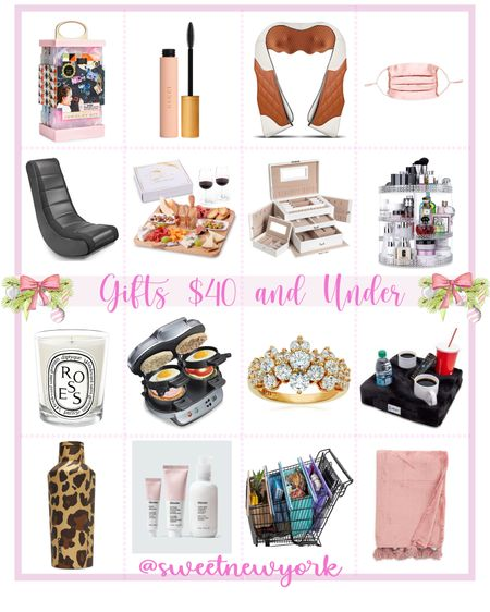 Holiday gift guide affordable gifts $40 and under amazon gift guide gifts for women gifts for home beauty gifts  http://liketk.it/30dxD #liketkit @liketoknow.it #LTKbeauty #LTKhome #LTKunder50