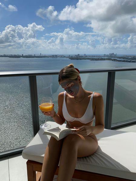 Sundays are for face masks, freshly squeezed juice, and reading a book 🍊🥂🧖🏼♀️✨   #LTKbeauty #LTKunder100 #LTKunder50