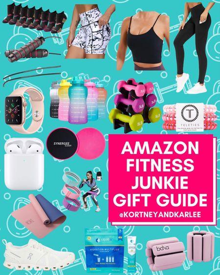 Amazon Fitness Junkie Gift Guide!!  Amazon fitness gift guide | Fitness gift guide | workout queen gift guide | Gift guide for the fitness lover | fitness lover gift guide | fitness gifts | gift guide for the fitness junkie | fitness gift ideas | Workout gift ideas | gift guide for the workout junkie | fitness junkie gift guide | workout junkie gift guide | Amazon gifts for her | Amazon gift guide | Amazon for her gift guide | amazon gifts under $25 | under $25 gift guide | under $25 amazon gift guide | gift guide under $25 | amazon gift guide under $25 | cozy girl gift guide | amazon gift guide for her | amazon gift guide for the girly girl | amazon gift ideas | amazon gift ideas for her | gift ideas for her | cozy gift guide | cozy gift ideas |Amazon finds | amazon girly things | amazon beauty | amazon home finds | amazon self care | amazon beauty favorites | amazon fashion favorites | amazon must haves | amazon best sellers | amazon fall finds | amazon fall favorites | fall favorites | amazon fall essentials | amazon fall must haves | amazon travel favorites | amazon travel finds | amazon travel must haves | amazon winter finds | amazon winter favorites | winter favorites | amazon winter essentials | amazon winter must haves | amazon gift guide | amazon gift ideas | gift guide amazon | holiday gift guide | amazon gifts | gift ideas from amazon | gift guide from amazon | amazon fall decor | amazon fall home decor | amazon winter decor | amazon winter home decor | amazon fall things | amazon winter things | amazon Christmas decor | amazon Thanksgiving decor | amazon Halloween decor | amazon Christmas gifts | amazon Christmas gift guide | amazon Christmas gift ideas | amazon vacay favorites | amazon vacation favorites | Kortney and Karlee | #kortneyandkarlee #LTKGifts @liketoknow.it #liketkit  #LTKunder50 #LTKunder100 #LTKsalealert #LTKstyletip #LTKshoecrush #LTKSeasonal #LTKtravel #LTKhome #LTKHoliday #LTKGiftGuide