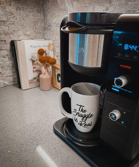 Coffee bar station ☕️  Coffee maker   #LTKhome #LTKSeasonal