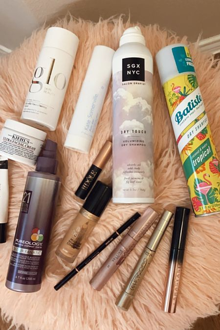 July empties! Featuring dry shampoo, leave in conditioner, facial toner, eye cream, face cream, moisturizer, concealer, brow tools and mascara!   #LTKunder100 #LTKbeauty #LTKunder50