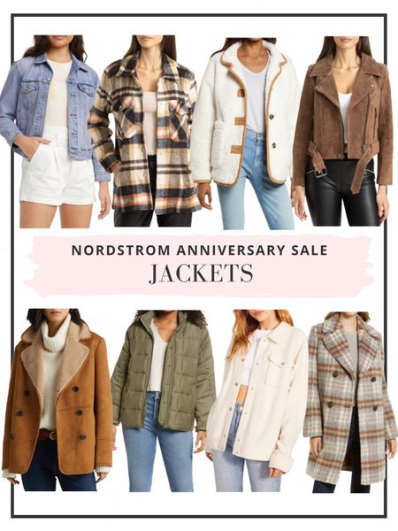 Ambassador level member can now shop the Nordstrom Anniversary Sale! Here are our top picks for jackets. Time to stock up for fall! http://liketk.it/3jGPe #liketkit @liketoknow.it #LTKsalealert