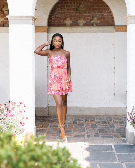 Always finding the perfect summer staples from @express. Sharing some of my must-haves (like this floral romper) over on stories! #ExpressPartner #ExpressYou http://liketk.it/3hLW2 @liketoknow.it #liketkit #LTKunder100 #LTKshoecrush #LTKstyletip