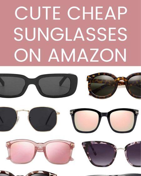 Cheap Sunglasses on Amazon http://liketk.it/3dct6 #liketkit @liketoknow.it #LTKunder50