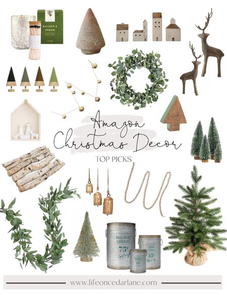Amazon Christmas Decor - decorate your home for the holidays with these cute and affordable finds!!   #LTKhome #LTKsalealert #LTKHoliday