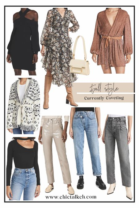 On my radar!! Specially loving those faux leather pants and floral dress! 🧡 fall outfits, fall fashion, fall style #LTKfall  #LTKHoliday #LTKGiftGuide