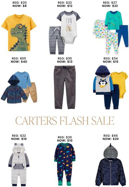 Zulily has a Carter's Flash sale!   #LTKbaby #LTKkids #LTKsalealert