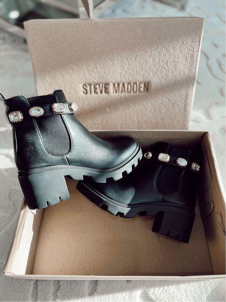 Steve Madden combat boots  True to size    #LTKshoecrush #LTKstyletip #LTKSeasonal