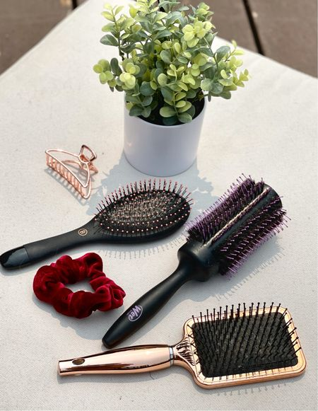 Different hair types require different types of hair brushes! New blog post today features a full guide to which hair brushes you should be using for your hair type!   #LTKbeauty #LTKunder100