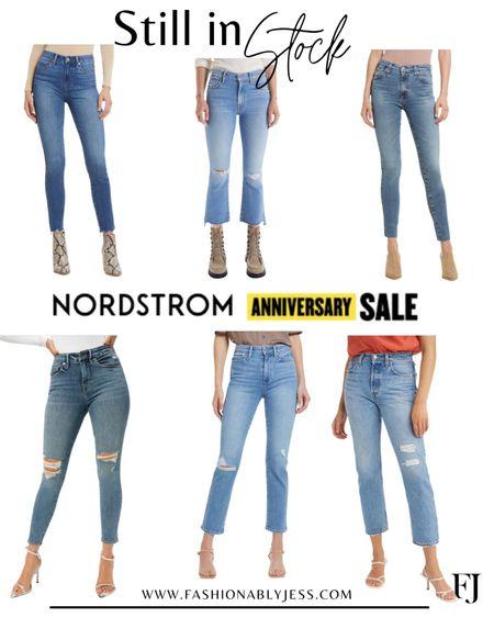 #nsale Denim Nordstrom anniversary sale