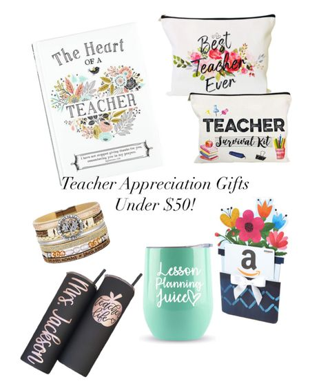 Celebrate Teacher Appreciation Week with the perfect gift for your teacher! All gifts under $50! #LTKunder50 http://liketk.it/3ewrd #liketkit @liketoknow.it