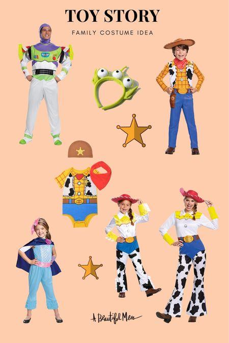 Family Toy Story costumes on Amazon!🎃  #LTKfamily #LTKHoliday #LTKSeasonal