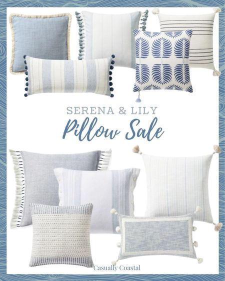 Serena & Lily is having a pillow sale, which also includes free shipping! @liketoknow.it @liketoknow.it.home #liketkit  coastal decor, beach house decor, beach decor, beach style, coastal home, coastal home decor, coastal decorating, coastal house decor, blue and white home, blue and white decor, couch pillows, blue and white pillows, blue & white pillows, throw pillows couch, 14x20 throw pillows, lumbar pillows, lumbar throw pillow, lumbar pillows for chair, lumbar pillows for bedroom, serena and lily pillows, blue serena and lily pillows, serena and lily pillows, serena & lily pillows, coastal throw pillows, coastal pillows, 20x20 pillows, 24x24 pillows  #LTKhome #LTKsalealert #LTKunder100