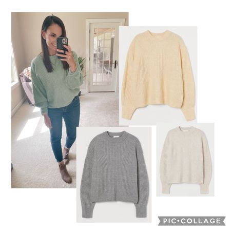 In love with this sweater! It's light and so soft and the fit is perfect for a front tuck if you like that. It comes in these other colors as well and it's under $20! I'm ordering the grey and the yellow too! True to size, I have a medium.   http://liketk.it/3dml7 #liketkit @liketoknow.it   Follow me on the LIKEtoKNOW.it shopping app to get the product details for this look and others