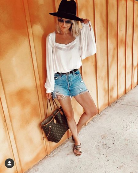Best mom jean shorts ever are back and 30% off!!! Run TTS, come in several washes. Not too short, high waisted, don't squeeze your thighs 👍🏻 http://liketk.it/2Mcy9 @liketoknow.it #liketkit #LTKunder50 #LTKsalealert #LTKspring  Abercrombie  Denim shorts Mom shorts  Ripped jeans Casual spring outfits