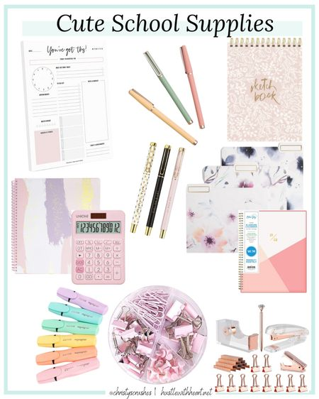 Cute school supplies for teachers and students   #LTKunder50