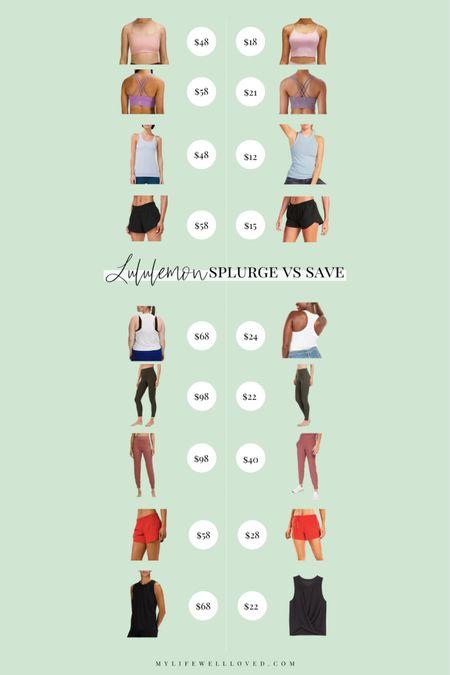 Summer Outfit fitness edition 💕 my top Lululemon lookalikes for summer! http://liketk.it/3hdtu #liketkit @liketoknow.it #LTKDay #LTKunder100 #LTKfit