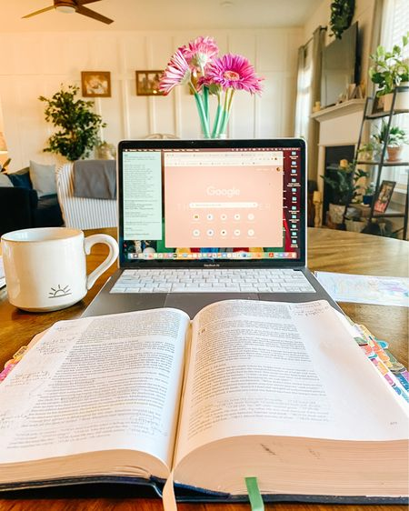 Happy Saturday, friends! Got coffee in the mug and my Bible open ready to tackle the day! http://liketk.it/36Cyh #liketkit @liketoknow.it #LTKfamily #LTKsalealert #LTKunder50 @liketoknow.it.family @liketoknow.it.home Shop your screenshot of this pic with the LIKEtoKNOW.it shopping app ❤️