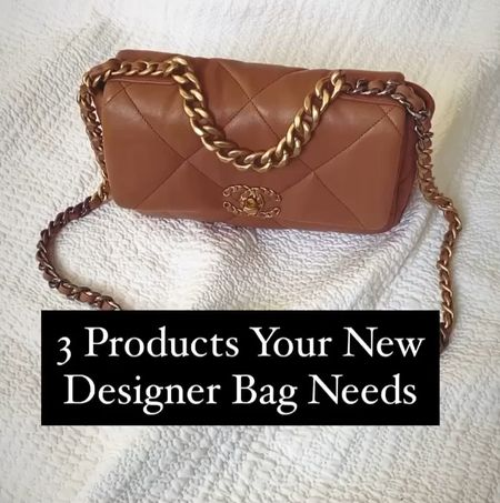 Watch my latest video on YouTube for the 5 essential products your designer bags NEED. Including a luxury liner, storage pillow & cleaning products.   #chanelbag #Chanel #designerbag  #LTKunder50 #LTKstyletip