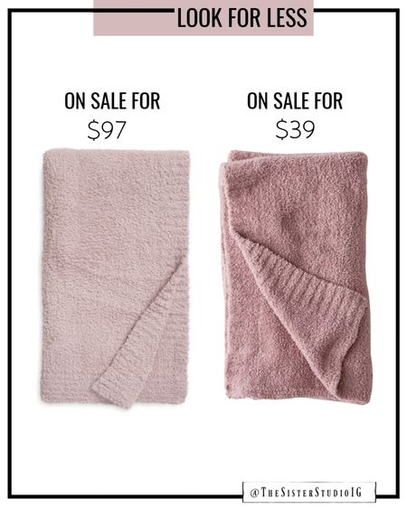 Barefoot dreams lookalike for less! Other colors available!🙌🏼   http://liketk.it/3jU6g @liketoknow.it #liketkit #LTKstyletip #LTKunder50 #LTKhome  Nordstrom Anniversary Sale
