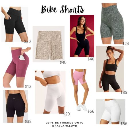 The best bike shorts // http://liketk.it/3folM @liketoknow.it #liketkit #LTKunder100 #LTKstyletip #LTKsalealert