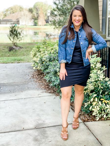 I shared this dress on stories yesterday but I love a Tshirt dress as a closet staple! This one is from Amazon and under $30! So comfortable and you can dress it up or down which I love!    #LTKstyletip #LTKSeasonal #LTKunder50