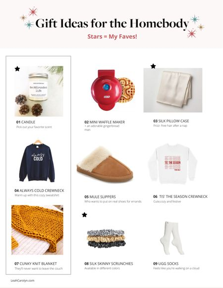 My picks for holiday gifts to give the homebody in your life   #StayHomeWithLTK #LTKgiftspo #LTKsalealert