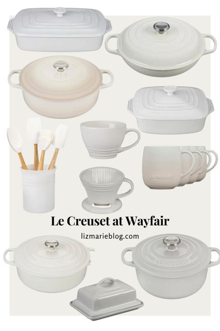 My @lecreuset picks from @wayfair! Head over to lizmarieblog.com to check out how I styled my Le Creuset Dutch oven for fall!  #LTKhome