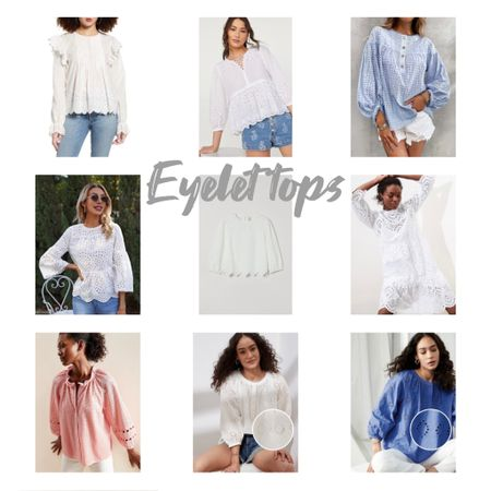 Eyelet peplum blouses summer tops http://liketk.it/3hhPG #liketkit @liketoknow.it #LTKsalealert #LTKunder50 #LTKDay Download the LIKEtoKNOW.it shopping app to shop this pic via screenshot You can instantly shop my looks by following me on the LIKEtoKNOW.it shopping app