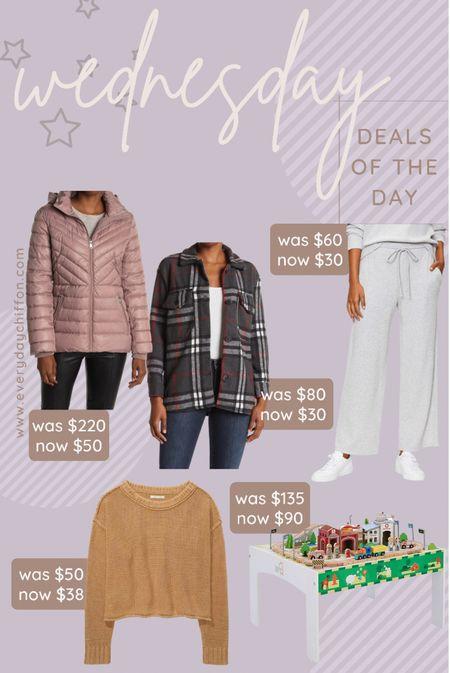 Winter coats, winter jacket, winter coat, Nordstrom rack, shacket Fall outfits, gifts for her Sweater, American eagle Rubbed sweatpants, wide leg sweatpants, LOFT Gifts for toddler, toddler gifts, gifts for kids  #LTKSeasonal #LTKkids #LTKGiftGuide