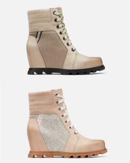 Sorel boots, wedge boots, snow boots, fashion snow boots   #LTKGiftGuide #LTKSeasonal #LTKshoecrush