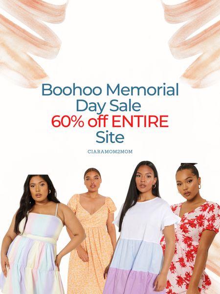 Boohoo Memorial Day Weekend Sale!   60% off entire site!   #LTKDay #LTKcurves #LTKsalealert