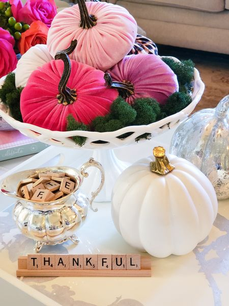 Look how lovely this coffee table looks! With just a few pretty accessories you can transform your space for the fall. http://liketk.it/30gMG @liketoknow.it #liketkit Download the LIKEtoKNOW.it app to shop this pic via screenshot