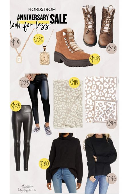 Nordstrom sale look for less #pinklilystyle pink lily boutique  Barefoot dreams blanket on sale Spanx faux leather leggings dupes  Sherpa boots for fall   #LTKsalealert #LTKstyletip