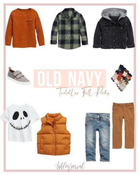 Old Navy Toddler Boy Fall Picks   #LTKSeasonal #LTKbaby #LTKbacktoschool