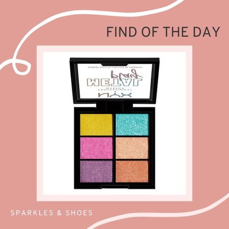 I am loving this NYX Professional Makeup Foil Play Pressed Pigment Eyeshadow Palette, .so many bright colours for a night out or #halloween look! #findoftheday #targetstyle #halloweencostume   #LTKbeauty #LTKSeasonal