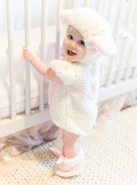 Baby lamb Halloween costume! #babycostume #halloweencostumes #costumes #halloween #toddlercostumes #ltkseasonal   #LTKfamily #LTKbaby #LTKkids