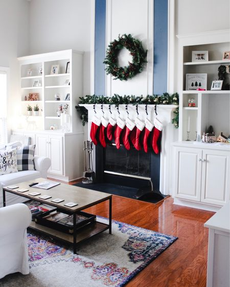 It's beginning to look a lot like Christmas 🎄   Today, I'm joining my blogger friends to share our cozy holiday homes 🎄❤️🎅🏼 Be sure to check out each of their beautiful  homes decorated for Christmas as well!  @lakelifestateofmind @heartsoulandmine @kerilynnsnyder @brittanywboyce @thetexmexmom @misssueliving @livewellplaytogether . . .  http://liketk.it/2I2IH @liketoknow.it @liketoknow.it.home #liketkit #LTKholidaystyle #LTKholidayathome #LTKhome  #holidayhome #holidayhomedecor #christmashomedecor #magicofchristmas #christmascheer #mycozyhome #northcarolinablogger #bhghome #bhgholiday #myhousebeautiful #charlottemoms #charlotteblogger #homedecorblogger #diychristmas #christmasdecorating #itsthemostwonderfultimeoftheyear #holidaystyle