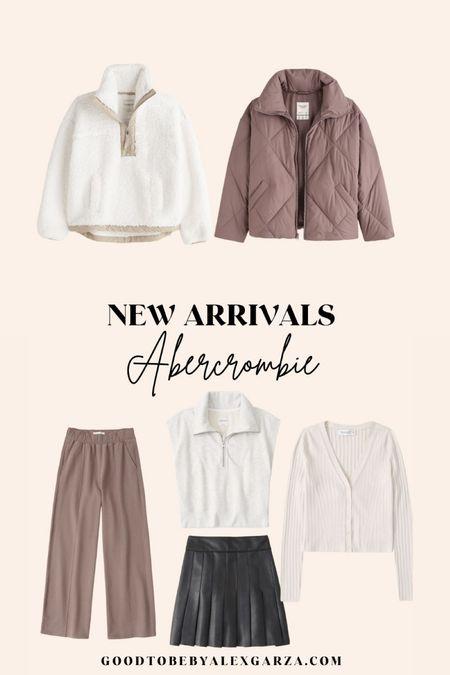 Abercrombie new arrivals