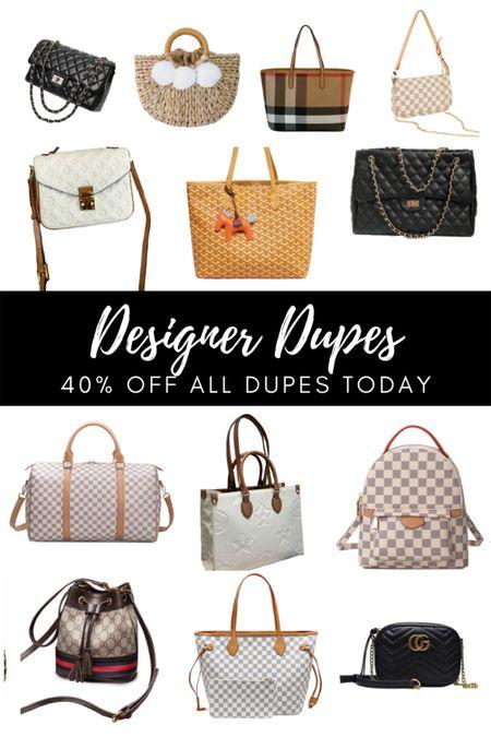 Designer handbag dupes on major sale! #liketkit http://liketk.it/3gMIf @liketoknow.it #LTKitbag #LTKunder50 #LTKstyletip