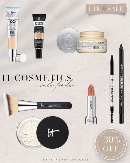 LTK DAY SALE- 30% off- USE LINKS HERE TO RECEIVE SALE DISCOUNT CODE- beauty sale, IT Cosmetics, summer beauty finds, skincare, StylinbyAylin @liketoknow.it #liketkit http://liketk.it/3hoHS       #LTKDay #LTKsalealert #LTKunder50