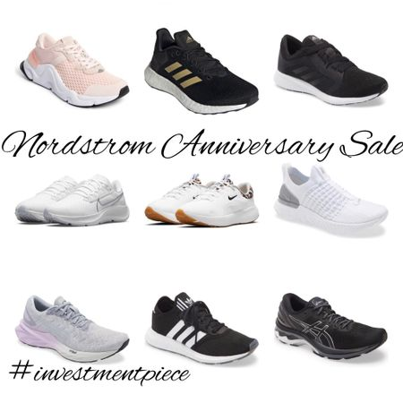 All the shoes fit to run in at the @nordstrom #anniversarysale (shop now or bookmark for the general sale on the 28th!) #investmentpiece  #LTKsalealert #LTKshoecrush #LTKfit
