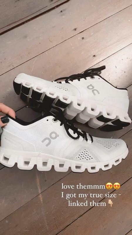 New workout sneakers!   #LTKHoliday #LTKfit #LTKshoecrush