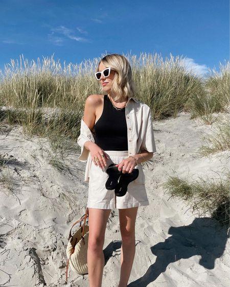 Beach attire 🖤 http://liketk.it/3ix3z #liketkit @liketoknow.it #LTKswim #LTKtravel @liketoknow.it.home @liketoknow.it.europe Shop your screenshot of this pic with the LIKEtoKNOW.it shopping app #LTKstyletip