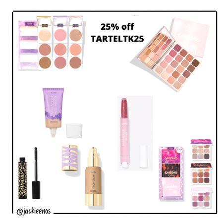 Tarte cosmetics beauty sale 25% off code TARTELTK25 http://liketk.it/3hkm4 #liketkit @liketoknow.it #LTKDay #LTKbeauty #LTKsalealert