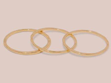 ring stack, jewelry, gold rings, accessories  http://liketk.it/3iIea #liketkit @liketoknow.it #LTKunder50 #LTKstyletip #LTKwedding