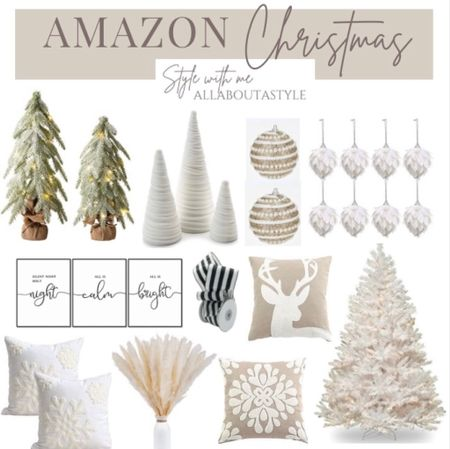 Amazon Christmas Decor   Follow my shop @allaboutastyle on the @shop.LTK app to shop this post and get my exclusive app-only content!  #liketkit #LTKHoliday #LTKGiftGuide #LTKSeasonal @shop.ltk http://liketk.it/3pHp4  #LTKGiftGuide