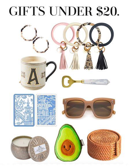 Gifts under $20. Stocking stuffer ideas.   #LTKstyletip #LTKhome #LTKGiftGuide