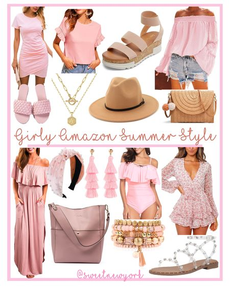 Amazon finds! Flirty girly and feminine style finds! Shoes, dresses jewelry and accessories for spring and summer http://liketk.it/3fuuj #liketkit @liketoknow.it #LTKunder100 #LTKstyletip #LTKshoecrush